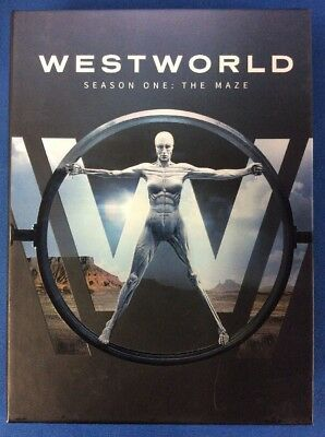 Westworld The Complete First Season DVD20173-Disc Set -1829-354-004