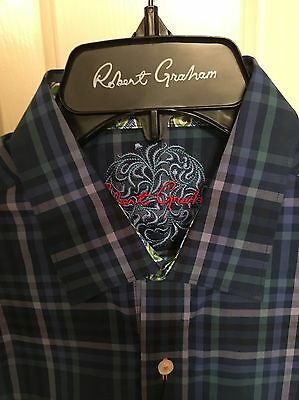 NWT Mens Robert Graham Long Sleeve Ryans Daughter Shirt Size Small