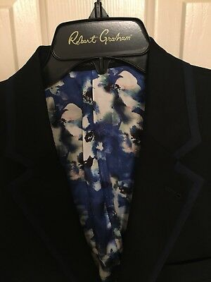 NWT Mens Robert Graham Buxton Woven Size 44 Regular Sport Coat Jacket