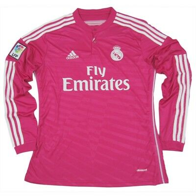 Real Madrid 201415 Away UCL jersey LARGE long sleeve