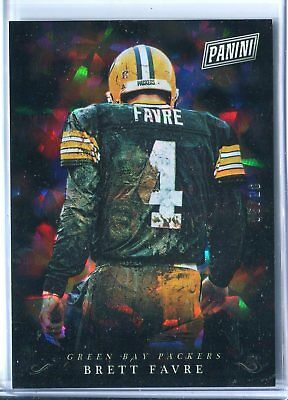 2018 Panini Black Friday Brett Favre CRACKED ICE PARALLEL BF 610 HOF PACKERS