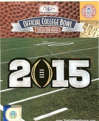 2015 Ohio State BCS CFP College Football Playoff Patch Official Black Football