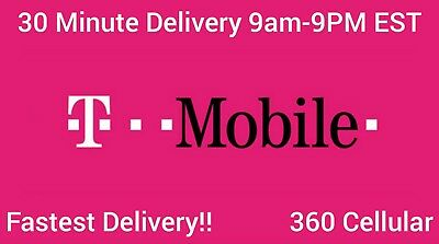 TMOBILE Prepaid Phone Numbers To  For PORT FAST DELIVERY  DISCOUNTS Available