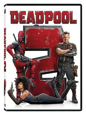 Deadpool 2 DVDNEW Fast FREE SHIPPING Great Gift idea Funny movie right here