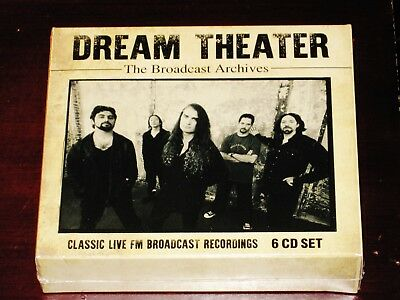 Dream Theater The Broadcast Archives - Classic Live FM 6 CD Box Set 2019 NEW