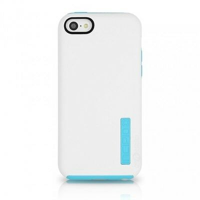 Incipio Dual PRO Hard Shell Cover Case for Apple iPhone 5C WhiteBlue