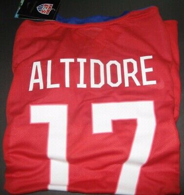 Nike USMNT Jozy Altidore Soccer Jersey New With Tags Brazil 2014 World Cup Patch