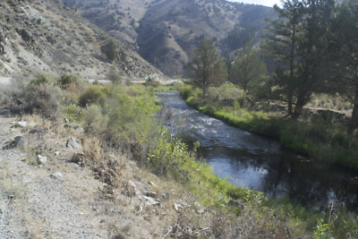 20 Acre Gold Mining Claim Placer Burnt River Baker County
