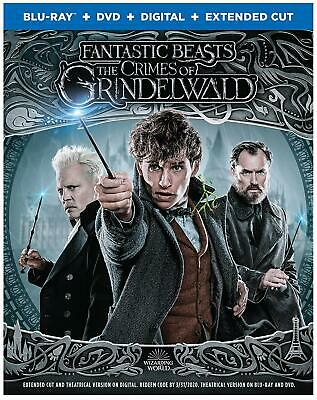 Fantastic Beasts - Crimes of Grindelwald Blu-ray Disc 2019 - Please Read