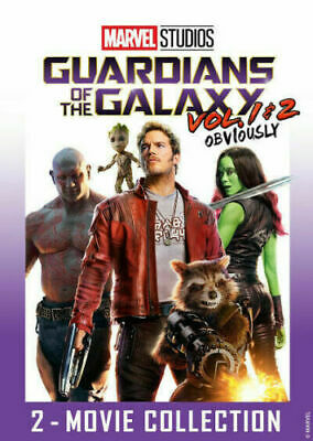 Guardians of the Galaxy Vol- 1 - 2 DVD 2 Movie Collection 2019 New FREE Ship