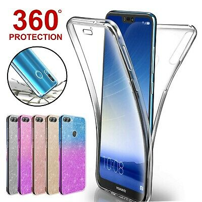 Case For Huawei P Smart P20 Lite Pro Mate P30 Covr 360 Hybrid Shockprof Silicone
