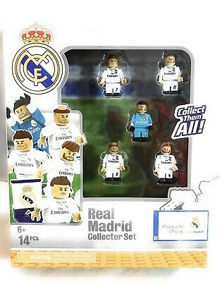 NEW Real Madrid Collector Set Soccer Team Ronaldo Bale Lego 14 PCS OYO Sports