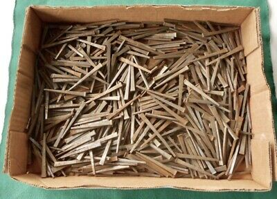 Vintage Square Cut Nails Lot Of 500 Nails 2 18 NOS