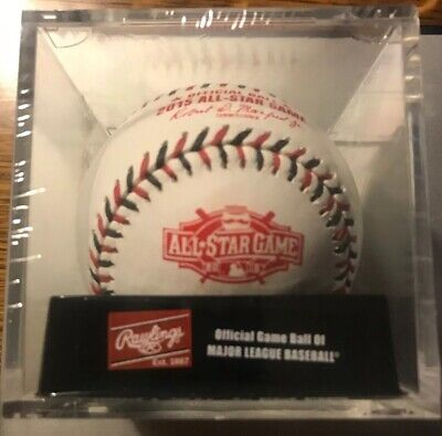 New Rawlings Official 2015 All Star Game Baseball Sealed In Cube