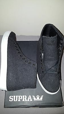 SUPRA THUNDER CHARCOAL WOOL SUIT MENS SHOES US SIZE 9-5 NEW IN BOX