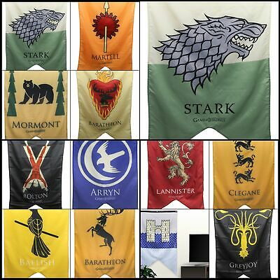 Calhoun Game of Thrones House Sigil Wall Banner 30 by 50 100 Woven Polyester