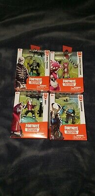 4x Fortnite Battle Royal Collection Toys Series Action Figures Bundle - All New