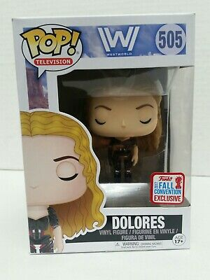 Funko Pop Television Westworld Dolores 505 2017 Fall Convention Exclusive
