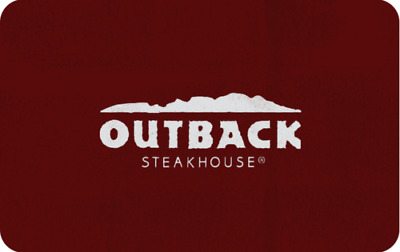 Outback Steakhouse Gift Card 100 Value  All Bloomin Brands Inc restaurants