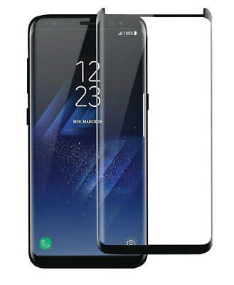 2x Samsung Galaxy S8 Plus Note 8 Full Coverage Tempered Glass Screen Protector