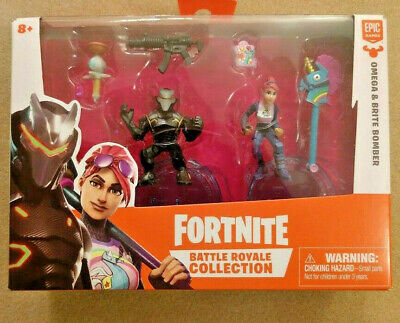 NEW Fortnite Omega - Brite Bomber Epic Games Battle Royale Collection Moose NIB