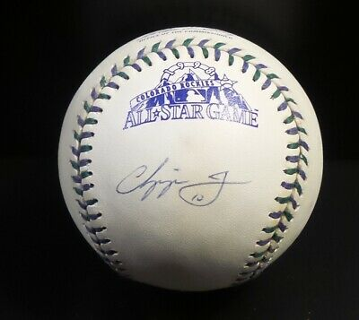 CHIPPER JONES AUTOGRAPHED OFFICIAL 1998 ALL STAR GAME RAWLINGS BASEBALL