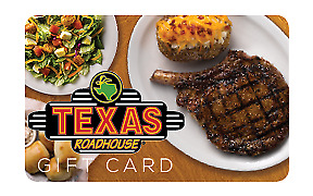 TEXAS ROADHOUSE GIFT CARD 100 - FREE SHIPPING