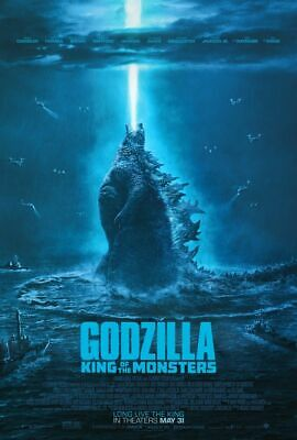 Godzilla King of Monsters - original DS movie poster 27x40 DS - FINAL