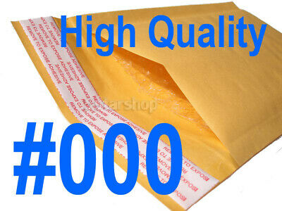 500 000 Kraft Bubble Padded Envelopes Mailers Packing Bag 4 x 8