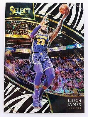 2018-19 Select 215 LEBRON JAMES Courtside Zebra Prizm SSP Case Hit