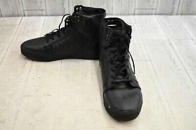 Supra Skytop Muska Water-Resistant Hi Top Sneakers Mens Size 11 Black