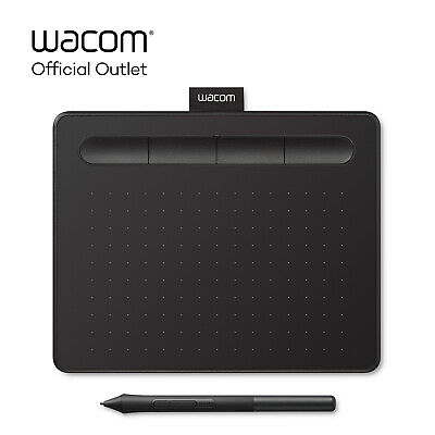 Certified Refurbished Wacom Intuos Small Digital Graphics Drawing Tablet