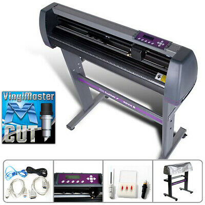 34 USCutter MH Vinyl Cutter Plotter with Stand and VinylMaster Cut Software
