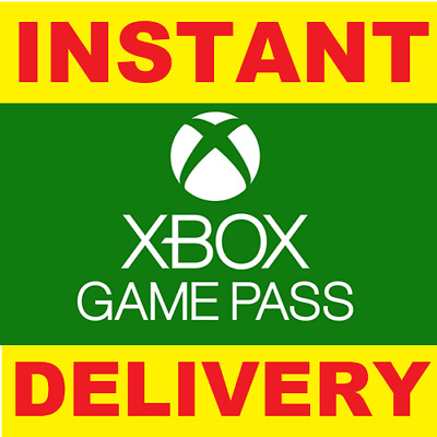 Xbox Game Pass 14 Day Trial Xbox One New Customer only - Instant Dispatch