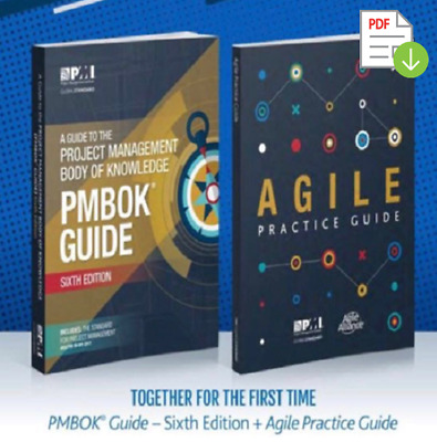 PMBOK Guide 6th Edition - Agile Practice Guide - P-D-F- High Quality 🎓📚☁️