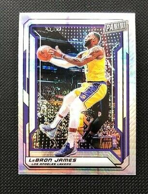 LeBron James 2019 Panini Party Gold VIP Hyper Prizm Parallel National 99 SP