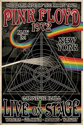 PINK FLOYD CONCERT TOUR POSTER Size 24x36