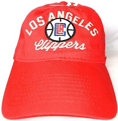 LOS ANGELES CLIPPERS Adidas Baseball HatCap Red Adjustable NBA NEW