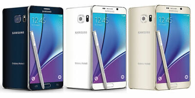 Samsung Galaxy Note 5  Factory Unlocked  AT-T T-Mobile  32GB 64GB  Excellent
