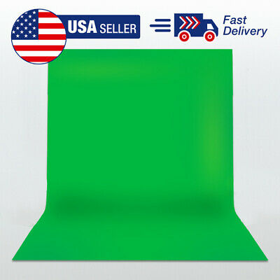 5 x 10 Studio Photography Backdrop Green Screen Photo Background USA Shipping