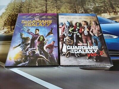 Guardians of the Galaxy 1 and 2 DVD 2-Movies Bundle Brand New