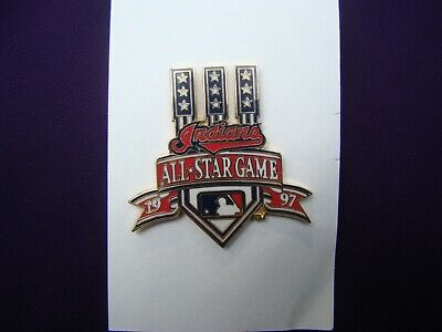 CLEVELAND INDIANS MLB Baseball 1997 All Star Game PETER DAVID Lapel Hat Pin