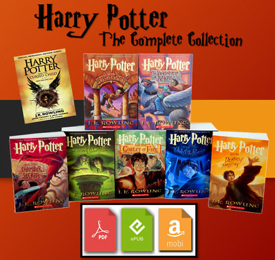 The Harry Potter Complete E BOOK Collection 📚 - BONUS 🎁 - Fast Delivery ⚡