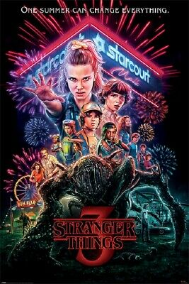 STRANGER THINGS 3 STARCOURT MALL POSTER size 24x36