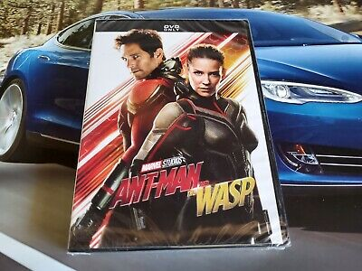 Ant-Man and The Wasp DVD 2018 New