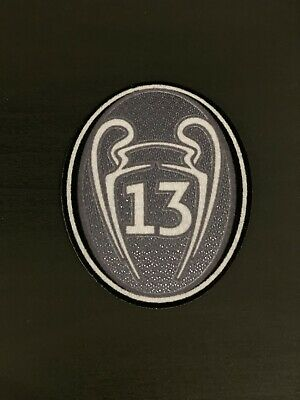 UEFA Champions League - Real Madrid Patch For Jerseys 13 Thirteen Soccer New