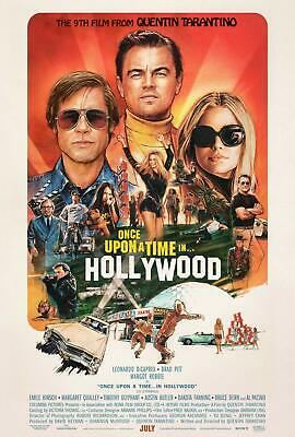 ONCE UPON A TIME IN HOLLYWOOD MOVIE POSTER US Version Size 24 x 36