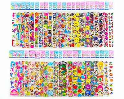 Sticker Sheets Stickers for Kids - 40 Different Kids Bulk Stickers 1200- Fun