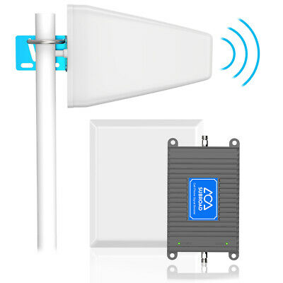 Home 4G LTE Cell Phone Signal Booster Repeater Amplifier up to 5000 sq ft