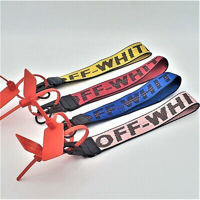 Off-White Inspired Industrial ID Badge Wrist Strap 10-5 Keychain Lanyard